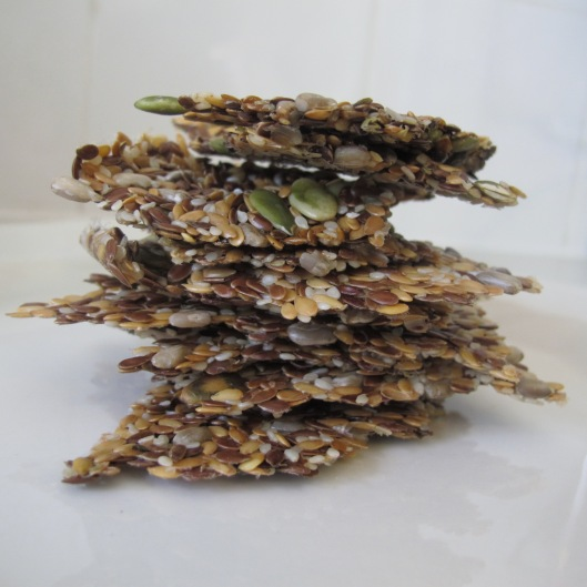 raw flaxseed crakers